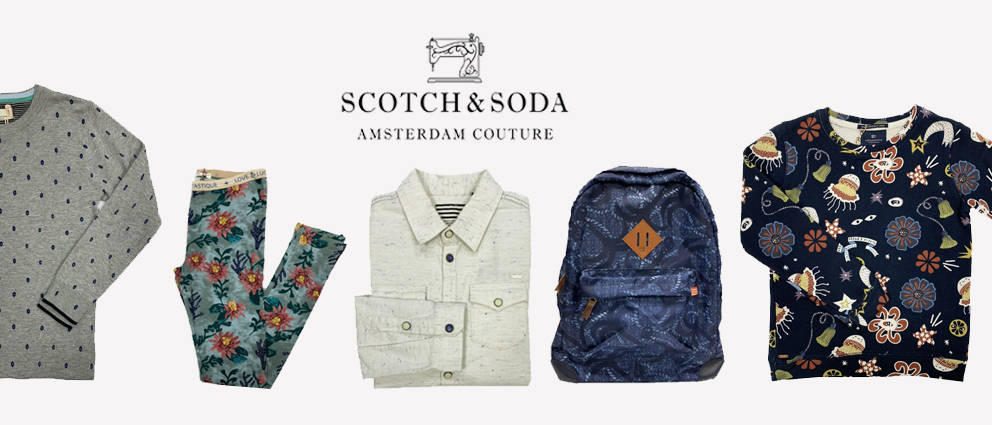 Scotch and Soda stocklot wholesale